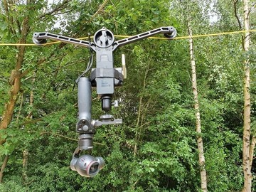 Lender: WireCam / kabelkamera m. PTZ kamera - sæt 2