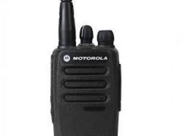 Lender: Motorola radio DP1400 x 4 with Remote and headset