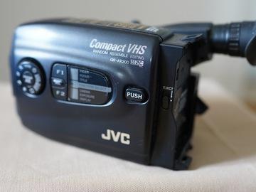 Lender: JVC GR-Ax200 VHS-C Camera