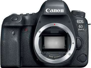 Lender: Eos 6D Mark II Hus + Canon EF 24-105mm F4L IS II USM + 64 GB