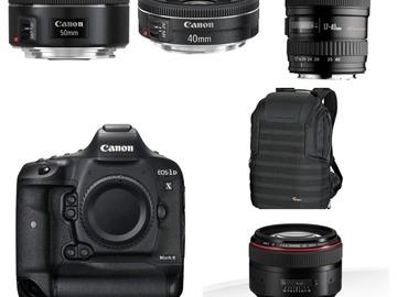 Lender: Canon 1DX Mark ii - Video/foto pakke
