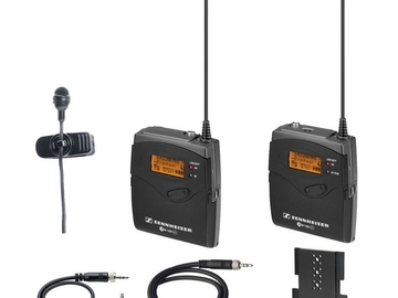 Udlejer: 2 sæt Sennheiser EW 112 G MKE-II Gold mic