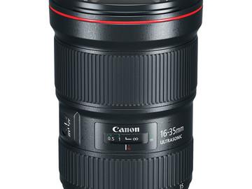 Lender: Canon EF 16-35mm F2.8 L USM III