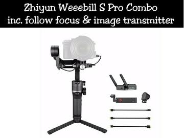 Lender: Zhiyun Weebill S Pro Combo
