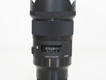 Lender: Sigma 35mm f/1.4 (Sony E-mount)