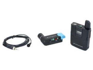 Lender: AVX-ME2 lavaliermikrofon + sender + modtager