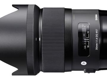 Lender: Sigma 35mm f/1,4 DG HSM Art for Sony E