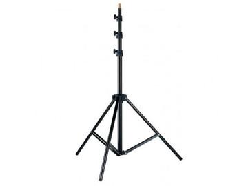 Lender: 3 lysstativer med knæk funktion L-24S 80-240 cm