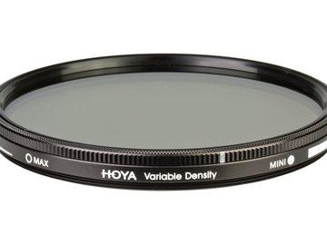 Lender: Hoya 82mm Variable ND 1.5-9 stops