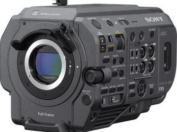 Lender: Sony FX9 pakke