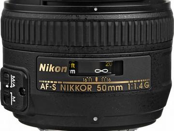 Lender: AF-S NIKKOR 50mm f/1.4