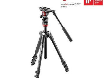 Udlejer: Manfrotto Befree Live Video tripod Kit