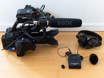 Lender: Sony FS5 VJ / dokumentar pakke