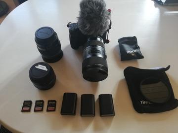 Lender: Panasonic GH4 film kit