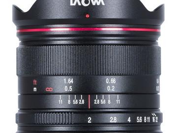 Lender: Laowa 7.5mm f/2 m43 mount