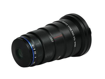 Lender: Laowa 25mm f/2.8 2.5-5x Ultra Macro EF mount