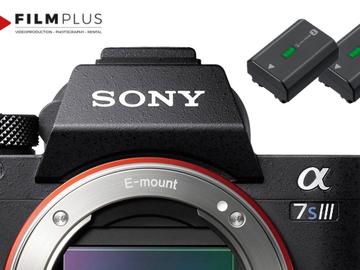 Verhuurder: Sony a7SIII kamera med to batterier (ultimo september)