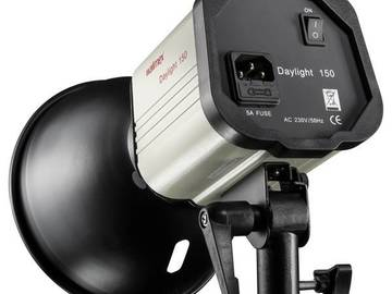 Lender: Walimex Daylight 150 Photo Lamp 25 W + STUDIO BAG + STAND