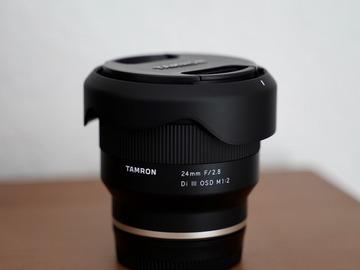 Verhuurder: TAMRON 24MM F/2.8 DI III OSD M1:2