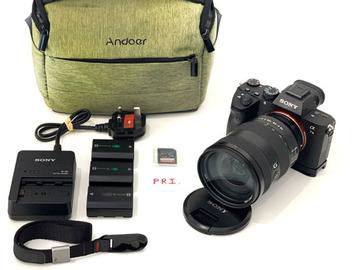Lender: Sony A7III 3 + 24 - 105 f/4 G Lens