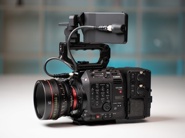 Lender: Canon EOS C500 MK II with Lenses