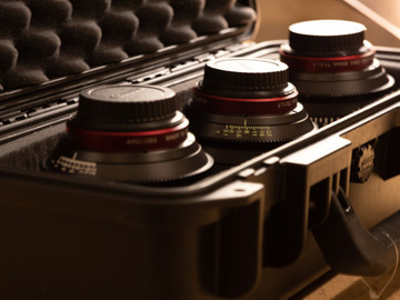 Lender: Canon Cine Prime set. 14, 50, 85