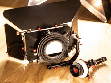 Lender: Rent WITH camera only. Matte Box and Follow Focus only with camera