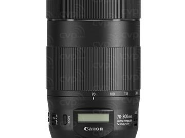 Lender: Canon EF 70-300mm f/4-5.6 IS USM