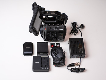 Lender: Canon C500 mk ii Cinema Camera Base Package