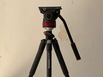 Lender: Manfrotto 055XPro tripod and fluid head