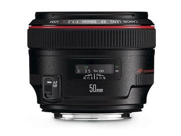 Lender: Canon EF 50mm f/1.2 L USM
