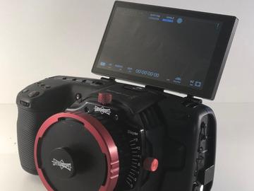 Lender: Black Magic 6K pocket Cam + Ultra Prime + Gymble