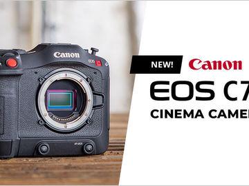 Lender: Canon Cinema EOS C70 - Pakke