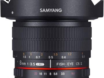 Lender: Samyang 8mm