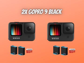 Lender: 2x goPro 9