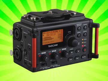 Lender: Tascam DR-60DMKII – External Audio Recorder for DSLR and Video Production