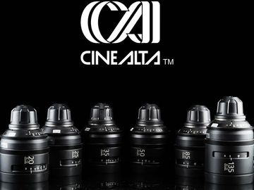 Lender: Sony Cine Alta Primes