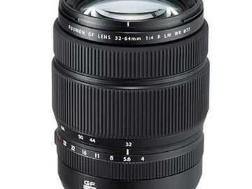 Lender: FujiFilm GF32-64 f4 lens