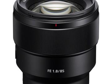 Lender: Sony FE 85mm f/1.8