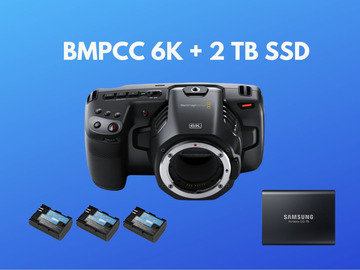 Lender: BMPCC 6k - Blackmagic Pocket 6k