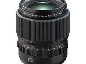 Lender: Fuji GF80mm 1.7 lens