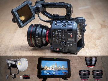 Lender: Canon C500 Mkii filming package