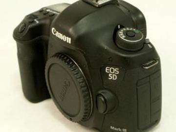 Lender: Canon EOS 5D Mark III 22.3MP Digital SLR Camera