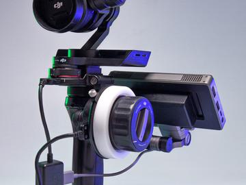 Lender: DJI Osmo Raw + follow fokus og monitor