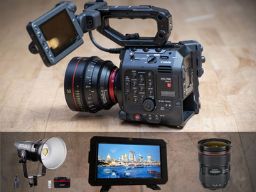Lender: Canon C500Mkii Shooting package 2