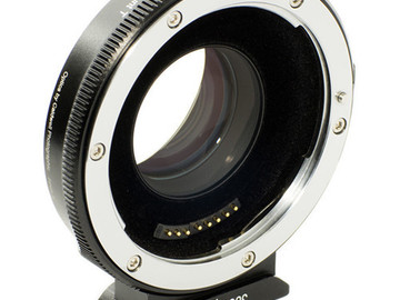 Lender: Metabones T Speed Booster Ultra 0.71x Adapter for Canon Full-Frame EF-Mount Lens to Micro Four Thirds-Mount Camera