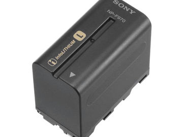 Lender: Sony NP-F970 battery