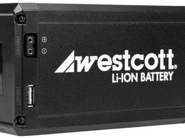 Lender: Westcott 10.4Ah Portable D-Tap Rechargeable Li-ion Battery