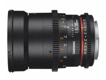 Lender: Samyang 35mm T1.5 VDSLR