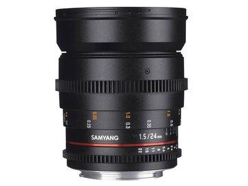 Lender: Samyang 24mm T1.5 VDSLR